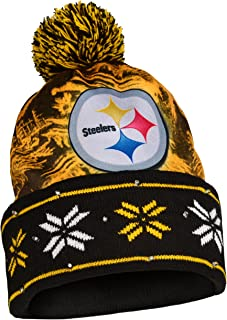 FOCO NFL Unisex Big Logo Light Up Printed Beanie 0293d4b2f