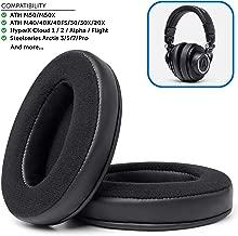 Best audio technica m50 earpads Reviews