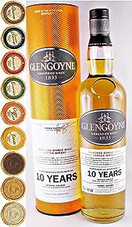 Glengoyne 10 Jahre Single Malt Whisky  9 Edel Schokoladen in 9 Sorten