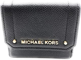 32ac80cfe515 Michael Kors Hayes Medium Trifold Coin Case Leather Wallet