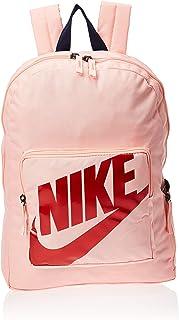 حقيبة ظهر نهارية بتصميم من البوليستر للاطفال من نايك، زهري، NKBa5928-697