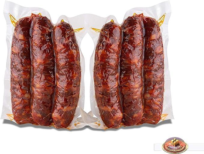 49 opinioni per Moretti® Salsiccia Stagionata Piccante   600g+ Sottovuoto 2 Confezioni   Salame