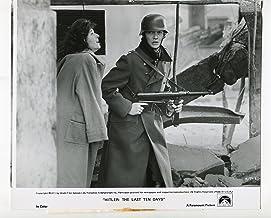 MOVIE PHOTO: Hitler: The Last Ten Days-Simon Ward-Wendy Gifford-8x10-B&W-Still-Bio-History-NM