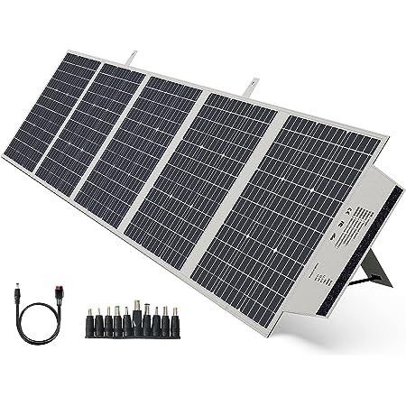 BigBlue ソーラーパネル 200W 大容量 ポータブル電源向け ソーラーチャージャー 折りたたみ式 高変換効率 単結晶 ポータブル電源 充電器 ソーラー充電 節電対策 アウトドア キャンプ 車中泊 防災グッズ