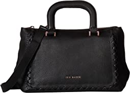 Interlocking Leather Tote