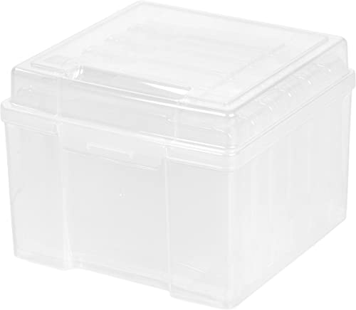 "IRIS USA, Inc. KP-PHO57 5"" x 7"" Photo Storage and Craft Keeper, Small, Clear"