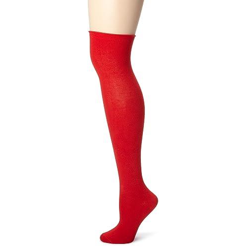 bce6ff85d8c Red Knee High Socks  Amazon.com