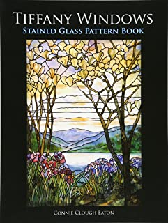Tiffany Windows Stained Glass Pattern Book (Dover Stained Glass Instruction)