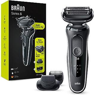 Braun Series 5 50-W1500s Afeitadora Eléctrica, máquina de afeitar barba hombre de lámina , con Recortadora De Barba, Uso E...