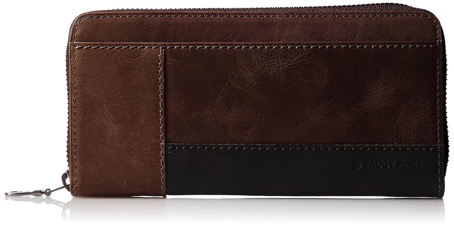 側バナナパースブラックボロウ[バギーポート] 長財布 キップヌメ長財布 ZYS560