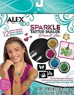 alex glitter tattoo