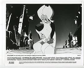 MOVIE PHOTO: An American Tail; Fievel Goes West-Wylie Burp-Animation-8x10-B&W-Still-NM