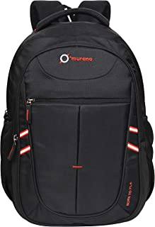 Murano 28 Ltrs Black Laptop Backpack (9050079_A)