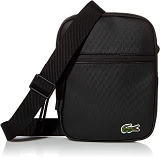 Lacoste Mens PVC Flat Crossover Bag