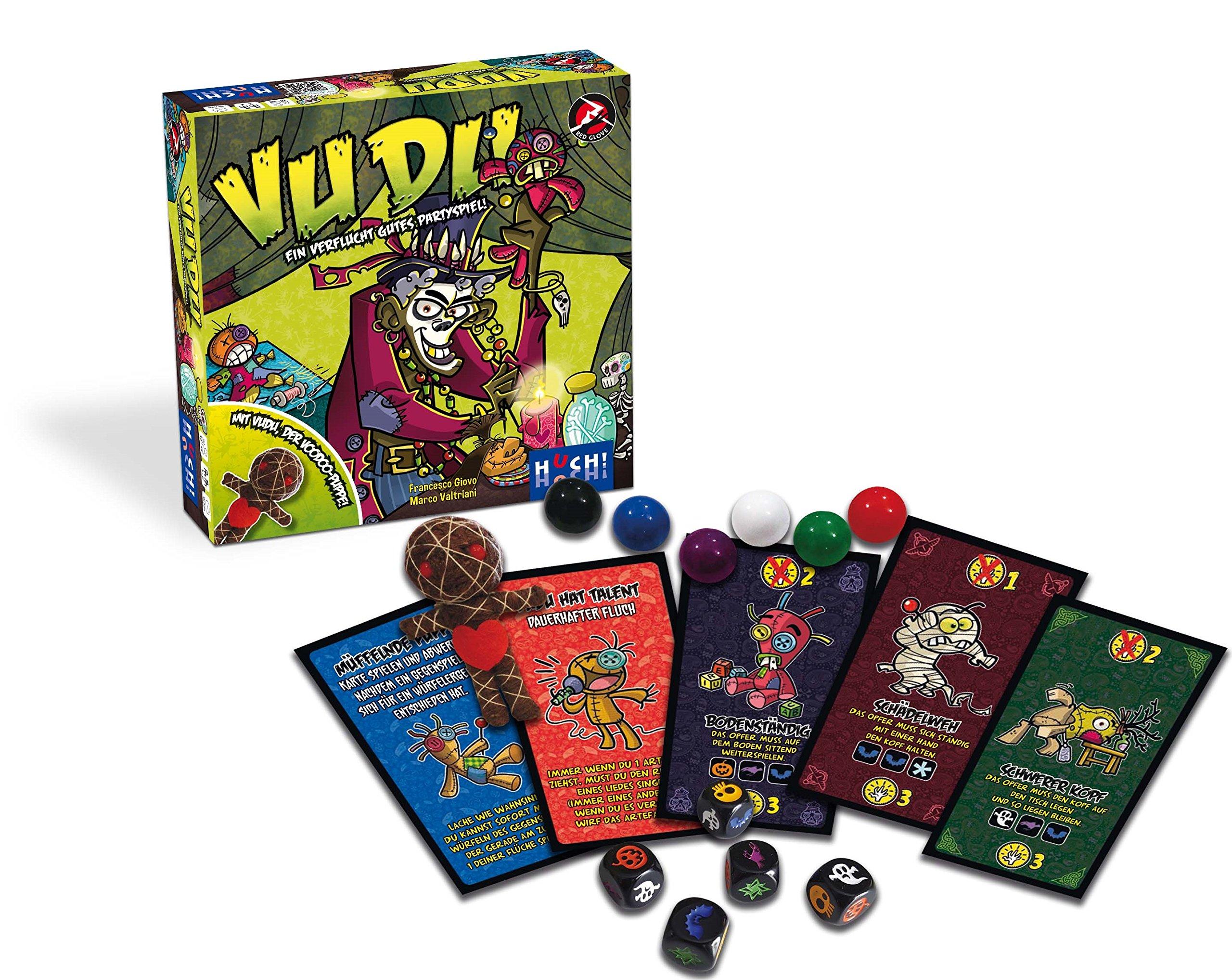 HUCH!. 880314 Vudu: Giovo, Francesco, Valtriani, Marco: Amazon.es: Juguetes y juegos