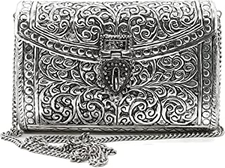 Trend Overseas Brass Metal Bag Purse antique clutch Ethnic clutch Handmade Women metal clutch Bag