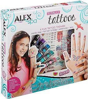 ALEX Spa Girls Totally Temporary Tattoo Kit