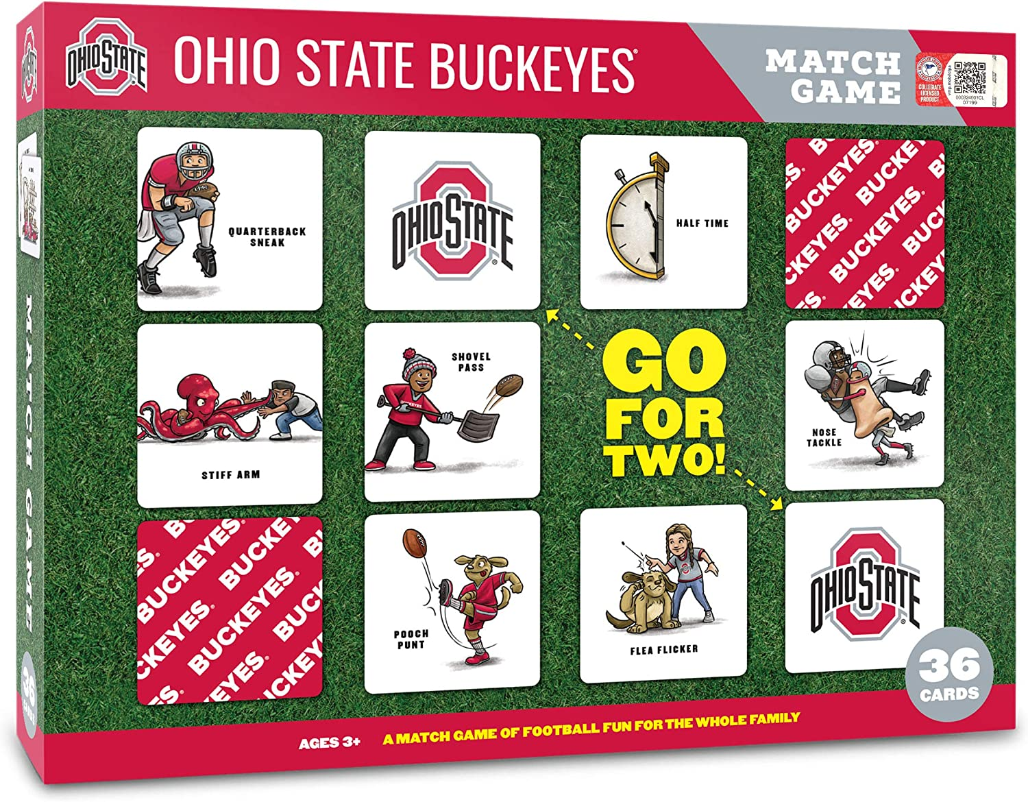 YouTheFan NCAA Memory discount Game New arrival Match