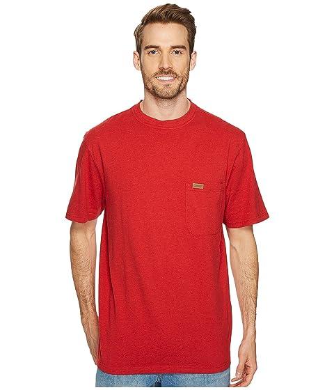 Heather de Pendleton S S Deschutes Camisa bolsillo Currant Rojo q878TIxw