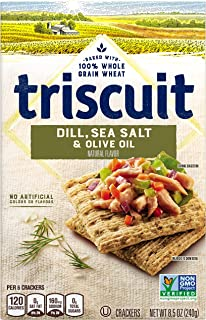 Triscuit Crackers, Dill Sea Salt and Olive Oil, 8.5 Ounce