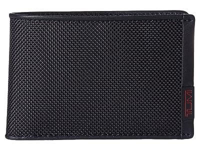Tumi Alpha Slim Single Billfold (Black) Bill-fold Wallet