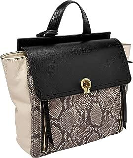 Fossil Women's Amelia Leather Backpack Handbag