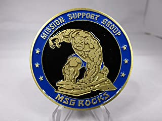 Area 51 Special Operations Group Air Branch Special Programs Mission Support Group If You Want Peace Prepare for War Challenge Coin