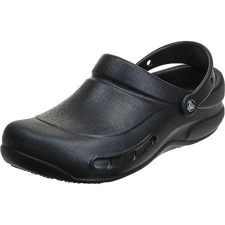Crocs Men's and Women's Bistro Clog   Slip Resistant Work Shoes