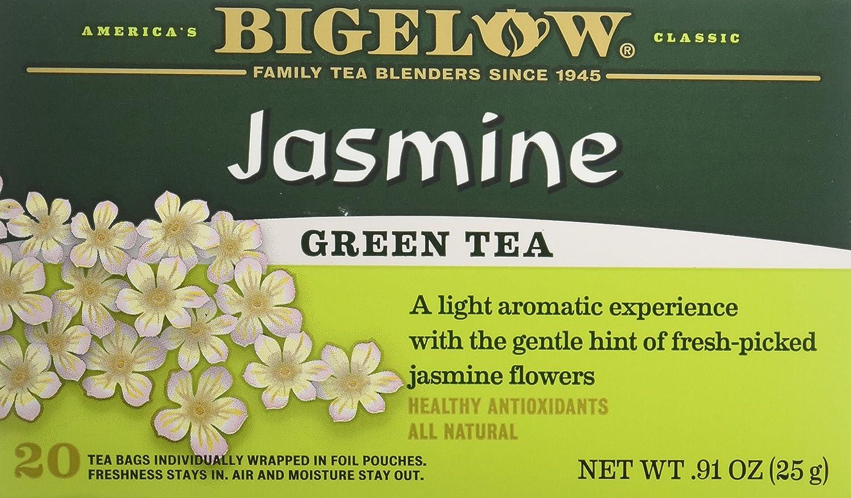 Bigelow Jasmine Green Albuquerque Mall Tea Bags Large special price 3 20 pk - ct
