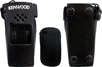 New Original Kenwood KLH-122 Leather Holster TK-2180 TK-3180