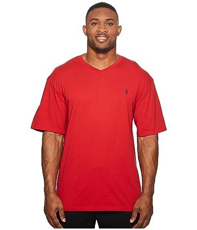 Polo Ralph Lauren Big & Tall Big and Tall Classic V-Neck T-Shirt (RL2000 Red) Men