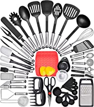 Home Hero Kitchen Utensil Set Cooking Utensils Set - Nylon Kitchen Utensils Set Kitchen Tool Set 44 Pcs. Cooking Utensil S...