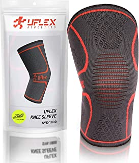 Knee Compression Sleeve for Men & Women - Knee Brace Support for Running, Jogging, Sports, Joint Pain Relief, Arthritis & ...