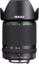 Pentax D FA 28-105-Millimeter F3.5-5.6ED DC WR HD Lens, Black