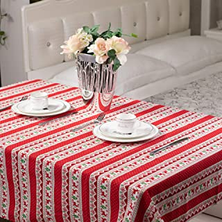 christmas tablecloth round