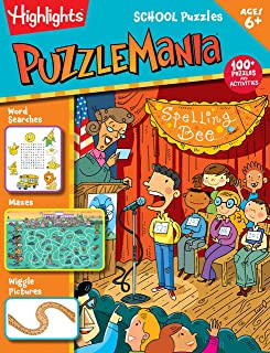 School Puzzles (Highlights™  Puzzlemania® Activity Books)