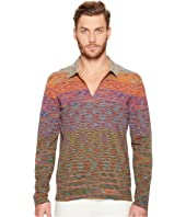 Missoni - Line Sfumata Long Sleeve Polo