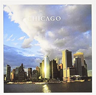 3dRose Chicago City Skyline - Greeting Cards, 6 x 6 inches, set of 12 (gc_109458_2)