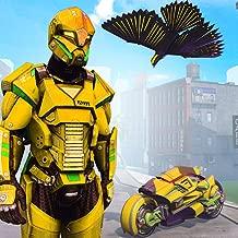 Super Power Robot Hawk Rangers: Flying Vector Hero Legacy Battle wars Rescue City