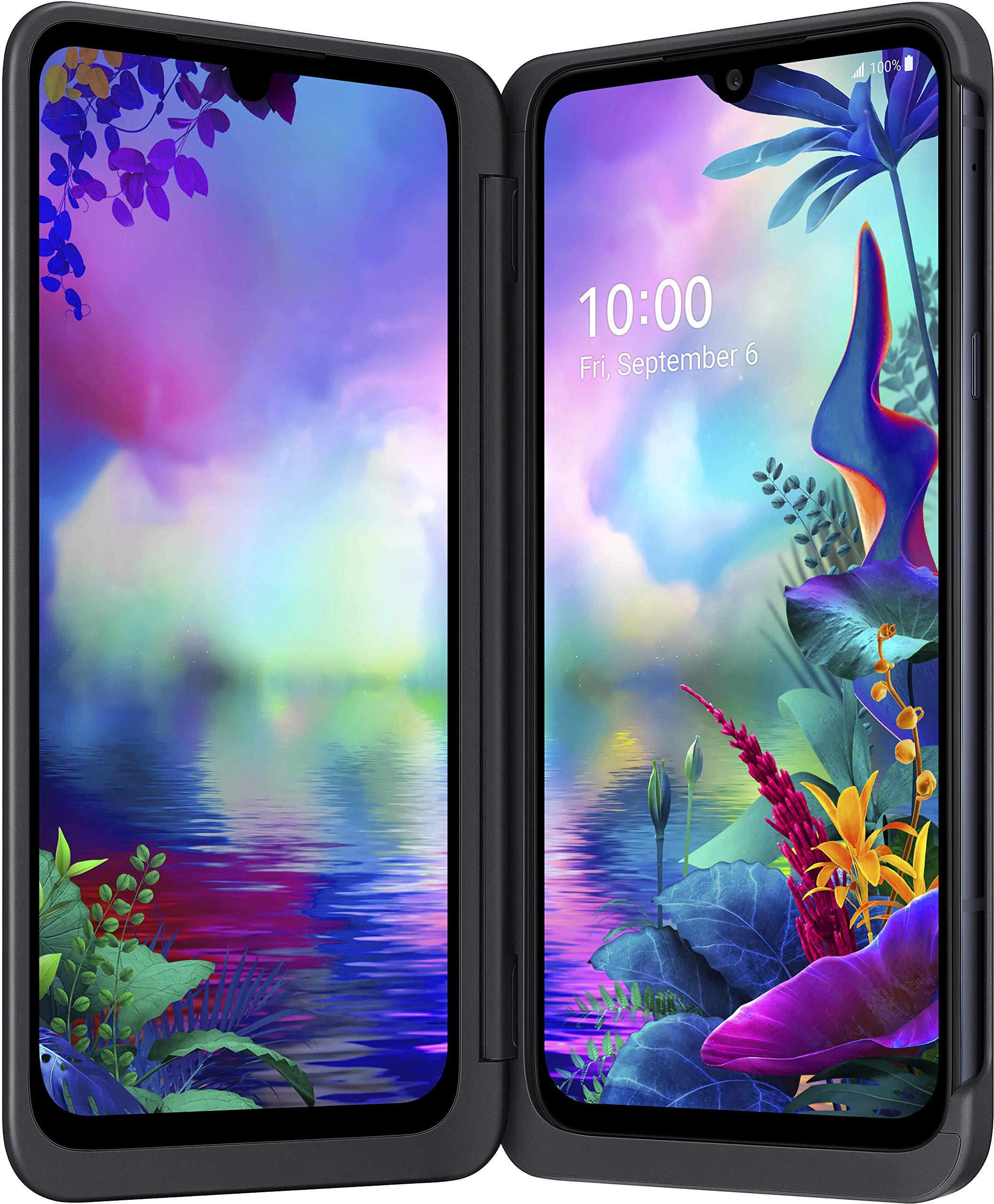 LG G8X Aurora Black Incl. Case con 2. Display Libre sin Branding ...