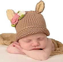 Huggalugs Baby Doe, Buck, Lamb or Fox Newborn Girl or Boy Hospital Hat