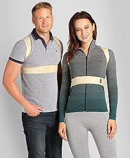 BeFit24 Posture Corrector for Women and Men - Back Straightener & Shoulder Support Brace - Slouch and Hunchback Prevention...