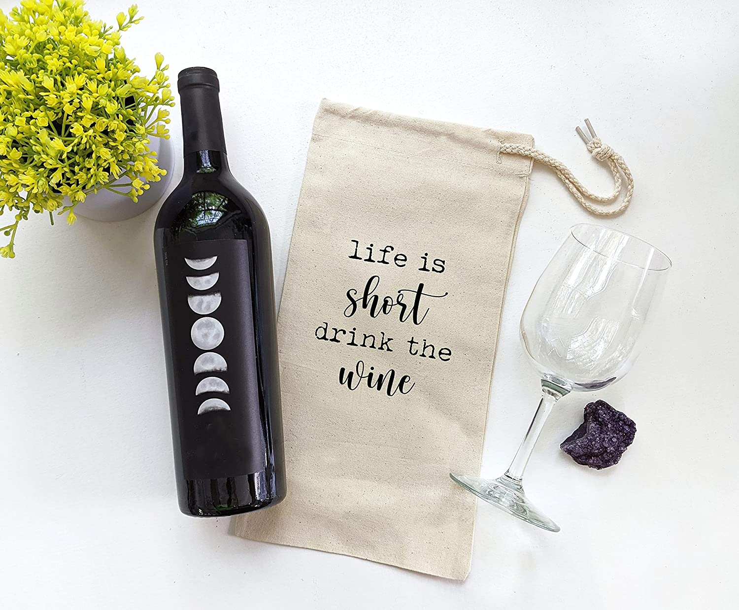 Funny Wine Tote Bag Screen Selling rankings Ranking TOP6 Printed Canvas Accessory