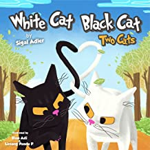 """WHITE CAT BLACK CAT "": two cats: Teach your kid patience"