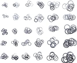 Aluminiumdichtung 20 x 24 x 1,5 DIN7603 A 5 St/ück Aluminium Alu Dichtringe Dichtungsringe aus Al Aluminiumringe