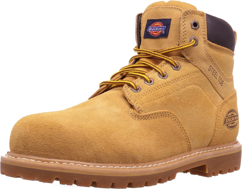 Dickies Men's Prowler Work Boot, Wheat, 9.5 M US