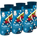 6-Count Gerber Graduates Puffs Cereal Snack