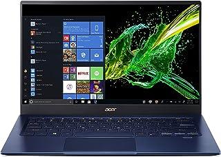 Acer Swift 5 超薄型&軽量ノートパソコン 14インチ フルHD IPSタッチ 第10世代 Intel Core i5-1035G1 8GB LPDDR4 512GB PCIe NVMe SSD FPリーダー Wi-Fi 6 バックラ...