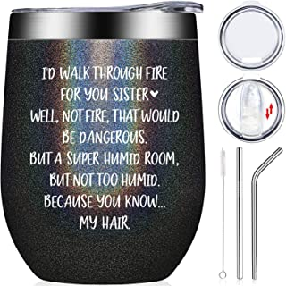 Sister Gifts from Sister - Like Sisters in Law Birthday Gifts Friendship Present for Women, Soul Little Big Sister, Women,...