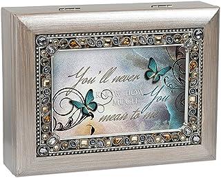 Image of Beautiful Jeweled Butterfly Music Box